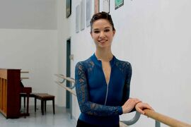 Jaimi Deleau, 19, is the newest dancer in the Royal Winnipeg Ballet Company.