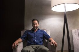 Actor Nick Kroll promotes the film