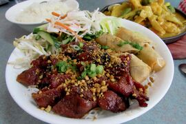 Pork vermicelli is a must-have at any Vietnamese restaurant according to food columnist Kathryne Grisim, and the version served up at Watt Street Bistro is equally worth a try.