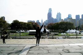 RoseAnna Schick always wanted to climb Philadelphia's