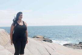 St. Vital community correspondent Krystalle Ramlakhan, pictured at Peggy's Cove, N.S.