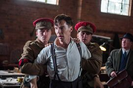 Benedict Cumberbatch is a riddle wrapped in an Enigma as code-breaker Alan Turing in The Imitation Game.