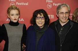 Paul Weitz, right, director/writer/producer of