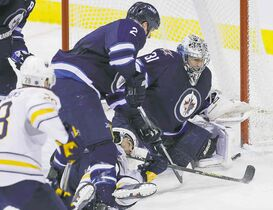 Jets goaltender Ondrej Pavelec says his job is to keep the team in games.