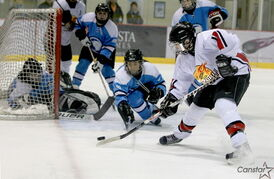 The MJWHL, pictured here in regular-season action, held its all-star game Jan. 19