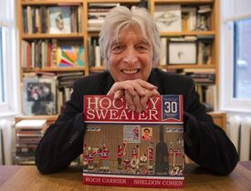 Roch Carrier, author of the book