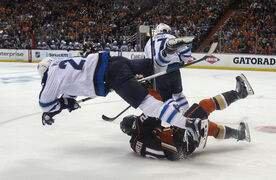 The Winnipeg Jets were sent flying in Games 1 and 2 by the Anaheim Ducks, but are counting on turning the tables tonight in Game 3 at the MTS Centre.