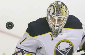 LM Otero / the associated press filesSabres goalie Jhonas Enroth figures he�s the man.