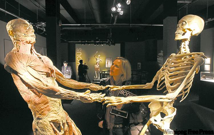 Bodies: The Exhibition has drawn 100,000 visitors since it opened four months ago. The displays of preserved and dissected cadavers in lifelike poses has also drawn significant criticism from those who say there's no proof the bodies aren't those of Chinese political prisoners or members of the Falun Gong spiritual movement, which is persecuted in China.
