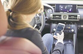 Texting and driving is not only illegal, it is also extremely dangerous. The OneTap app has an auto-reply function that replies to calls and texts immediately to let senders know an individual is driving and when the trip is expected to end.