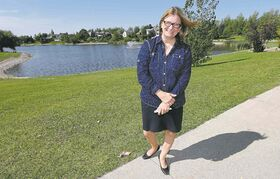 Mayoral candidate Paula Havixbeck cited Winnipeg as one of the first cities to use retention ponds and said it should look to be the first in other areas as well.