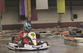 On Feb. 11, Tuxedo-based race car driver Daniel Burkett set a new Guinness World Record for the greatest karting distance traveled on an indoor track in 24 hours.
