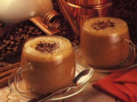 Continental hot chocolate is shown in a handout photo. Many Europeans tend to favour hot chocolate that is thick and very rich. This
