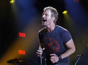 Dierks Bentley performs during the CMA Fest at LP Field in Nashville, Tenn.