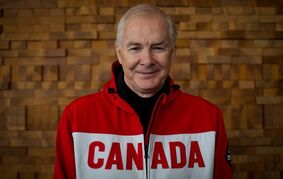 John Furlong is shown during an interview with The Canadian Press in Vancouver, on Wednesday January 29, 2014. A British Columbia Supreme Court judge has reserved a decision on whether to throw out a sexual abuse lawsuit against former Vancouver Olympic CEO Furlong. THE CANADIAN PRESS/Darryl Dyck