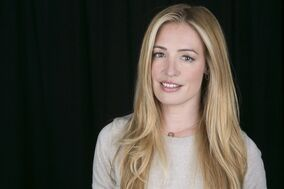 This April 2, 2014 photo shows English actress, singer and model Cat Deeley. The