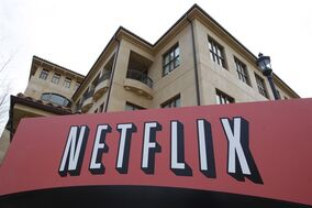 This March 20, 2012 file photo shows Netfilx headquarters in Los Gatos, Calif. Netflix is making an unusual pairing with a Canadian broadcaster, and its rival video-on-demand service, to deliver the original survivalist thriller series
