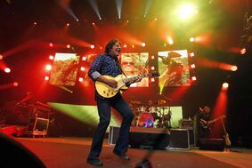 John Fogerty performs his songs from the year 1969 for a Winnipeg audience at the MTS Centre Wednesday night.