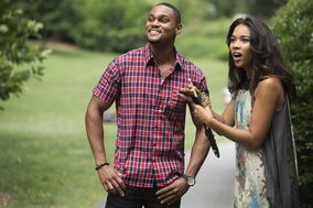 This photo provided by VH1 shows, Jeff Pierre, left, as Tyree, and Alexandra Shipp as Dani Bolton in