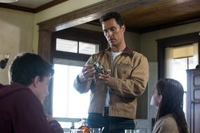 This image released by Paramount Pictures shows Matthew McConaughey in a scene from