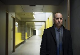 This image released by Pivot shows Stanley Tucci as DCI Eugene Morton in a scene from