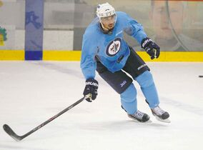 Evander Kane has ditched his no-contact jersey and could be ready to play tonight.