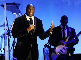 FILE - In this Oct. 11, 2014, file photo, Earvin