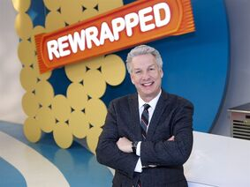 In this 2014 photo provided by the Food Network, judge and host, Marc Summers, poses for a portrait on set during the filming of Food Network's