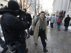 FILE - In this Jan. 17, 2013, file photo, Jonathan Turley, attorney for Kody Brown and his four wives, the stars of the reality show
