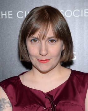 Actress Lena Dunham attends a special screening of Fox Searchlight Pictures'