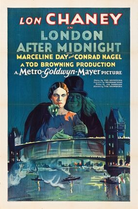 This undated photo courtesy of Heritage Auctions shows the movie poster from the 1927 film