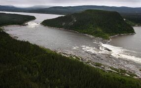Muskrat Falls, on the Churchill River in Labrador, is pictured in a 2011 photo. THE CANADIAN PRESS/Paul Daly
