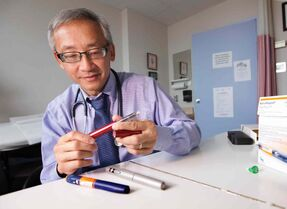 Winnipeg endocrinologist Dr. Vincent Woo will speak about ongoing developments in diabetes care, including new types of insulin.