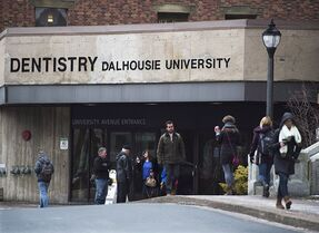 The Dalhousie University dentistry building is seen in Halifax on Monday, Jan. 12, 2015. THE CANADIAN PRESS/Andrew Vaughan
