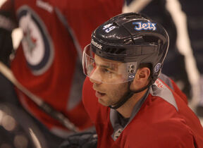 Winnipeg Jets defencemen Julien Brouillette