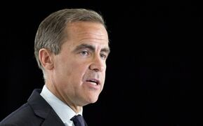 Mark Carney delivers his last speech as governor of the Bank of Canada before the Board of Trade of Metropolitan Montreal, Tuesday, May 21, 2013 in Montreal. Carney will become governor of the Bank of England next month. THE CANADIAN PRESS/Paul Chiasson