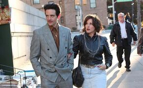 This image released by the Tribeca Film Festival shows Vincent Piazza, left, and Patricia Arquette in a scene from the New York mafia drama,