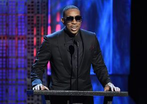 FILE - In this Saturday, March 14, 2015, file photo, Ludacris speaks at the Comedy Central Roast of Justin Bieber at Sony Pictures Studios, in Culver City, Calif. Dick Clark Productions announced Monday, March 30, 2015, that Ludacris and Chrissy Teigen will host the 2015 Billboard Music Awards on May 17, from the MGM Grand Garden Arena in Las Vegas. (Photo by Chris Pizzello/Invision/AP, File)