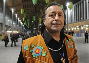 Chief Bill Erasmus of the Dene nation is pictured in Poznan, Poland, on Dec. 5, 2008. THE CANADIAN PRESS/AP, Alik Keplicz