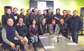 Members and officers of the Filipino Canadian Technical Professionals Association (FCTPAM) are pictured here at the organization's recent meeting.