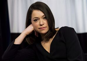 Actor Tatiana Maslany poses in Toronto on March 6, 2014. As