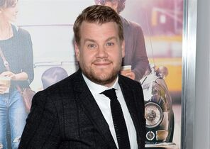 FILE - This June 25, 2014 file photo shows James Corden at the New York premiere of