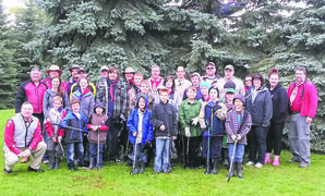 Beavers, Cubs, Scouts and Venturers, parents and leaders of the 1st Kirkfield Scouting Group gathered near Woodhaven in September for their annual Great Canadian Shoreline Clean-up campaign.