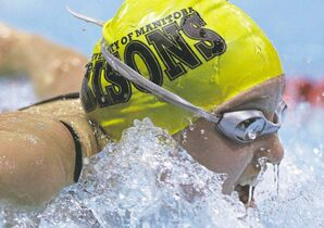 JOE BRYKSA / WINNIPEG FREE PRESS  files Winnipeggers Mackenzie Glover (pictured) and Kelsey Wog will compete against the world's best young swimmers in Nanjing, China.