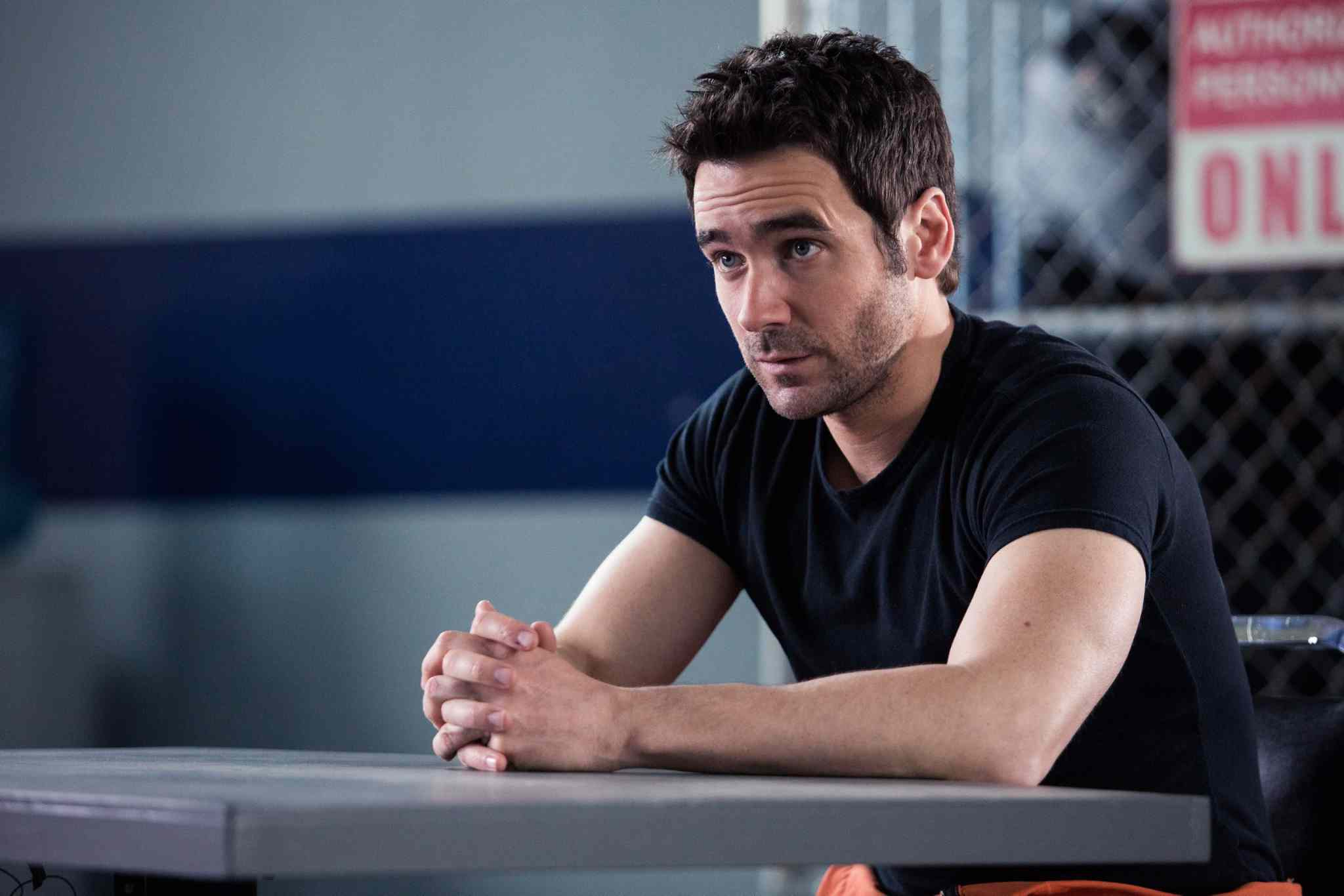 Allan Hawco stars as Jake Doyle; he also serves as writer and producer on Republic of Doyle.