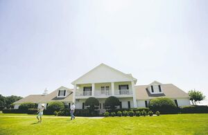 People can tour the Mansion on Southfork Ranch in Parker, Texas, where many scenes were filmed.