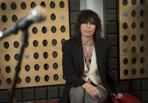 Chrissie Hynde poses for portraits at a north London recording studio, Tuesday, June 10, 2014, following the release of her first solo venture, entitled Stockholm, six years after the last Pretenders album. Hynde will tell the story of her life, with all its ups and downs.Penguin Random House announced Tuesday that the Pretenders singer was working on an