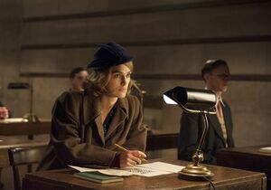 In this image released by The Weinstein Company, Keira Knightley, left and appears in a scene from