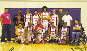The 2012-13 Churchill Bulldogs varsity boys basketball team.