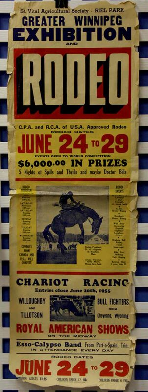 E.J. Casey once had the biggest midway and sideshows in Manitoba and the St. Vital Museum has acquired some old show posters.